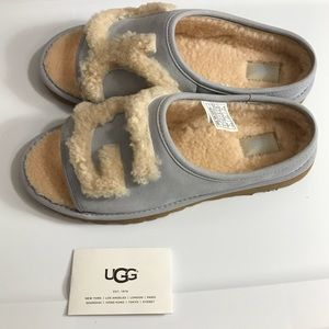UGG Shoes - UGG size 8 light blue slippers